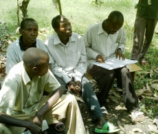 Learning to keep goat breeding records in rural Uganda