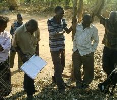 Setting up a herd book in Nakalembe Sub-Project, Masaka