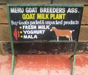 Goats milk dairy established by FARM-Africa in Meru, Kenya
